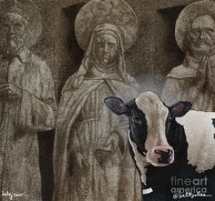 Will Bullas Painting - Holy Cow... by Will Bullas