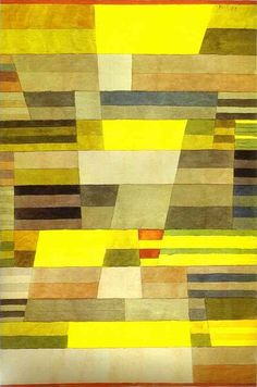 Paul Klee: Monument in Fertile Country, 1929