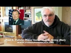 Maj. Gen. Paul Vallely On Obama's Forged Birth Certificate
