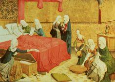 El nacimiento en la Edad Media