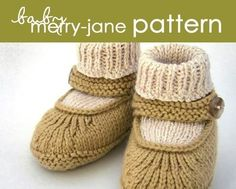 Baby MerryJane PDF PATTERN  16 and 612 months by BEKAHknits, $5.99