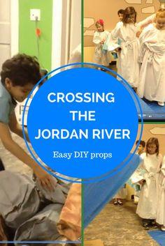 Kidfrugal: Crossing the Jordan River Dramatization