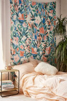 Jacqueline Maldonado For DENY Nonchalant Coral Tapestry - Urban Outfitters