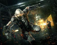 Cyberpunk Assassin by KM33.deviantart.com on @deviantART