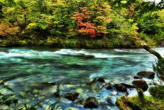 This was shot down in Argentina, near the coast of Chile, on a glacial river that streams away from Andes, before a long journey to the lake. - Patagonia, Argentina - Photo from #treyratcliff Trey Ratcliff at http://www.StuckInCustoms.com