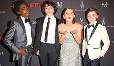 For Sunday's SAG Awards the 'Stranger Things' kids are the newest presenters announced. We've got the full list of presenters so far. Stranger Things Quote, Stranger Things Aesthetic, Stranger Things Netflix, Sag Awards, Awards 2017, Tv Show Casting, Favim, Millie Bobby Brown, Best Shows Ever