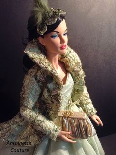 Fashion Dolls Couture - Unlimited: GREEN GOWN