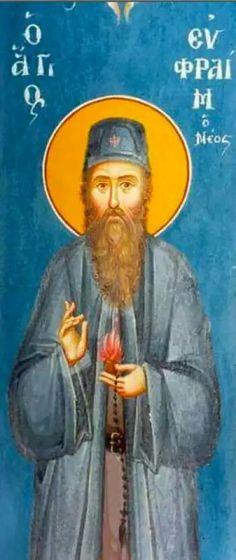 Sfântul Efrem cel Nou de la Nea Makri (5 mai)