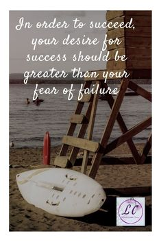 Eliminate the fear of failure. Virtual Assistant Services, Quotable Quotes
