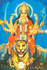 Jai Ma Durga. Warior Mother.