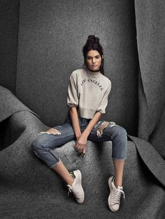 Kendall Jenner in Kendall & Kylie's fall collection for PacSun - click ahead for more photos!