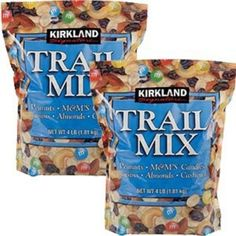 Trail Mix 179193: 2 X Kirkland Signature Trail Mix Peanuts Mandm S Candies Raisins Almonds Cashews -> BUY IT NOW ONLY: $37.89 on eBay!