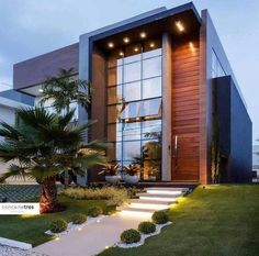 Modern Architecture Discover Dream house in an area of 30 sq. by the sea houses dream dream houses ideas timy house ideas dream house stuff your dream house Modern Architecture House, Modern House Design, Architecture Design, Garden Architecture, Modern House Exteriors, Modern Wood House, Architecture Definition, Modern Exterior, Exterior Design