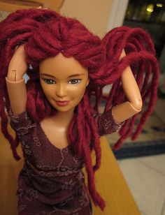 dolls with dreads | 6th scale barbie barbie dreads chrazmaz christmas doll dreadlocks