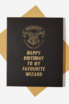 Harry Potter Birthday Cards, Harry Potter Cards, Harry Potter Merchandise, Cute Birthday Cards, Harry Potter Gifts, Diy Birthday, Happy Birthday Friend, Birthday Cards For Friends, Funny Cards