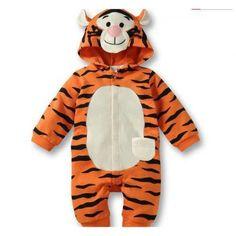 Tigger the Tiger Romper!! #winterbabyclothes #babyboutique #trendybabyclothes