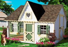 cool dog houses for the dog owner that wants only the best for their pets