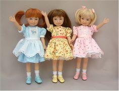 Jackie, Mari & Grace - Heartstring dolls.  Adorable!!