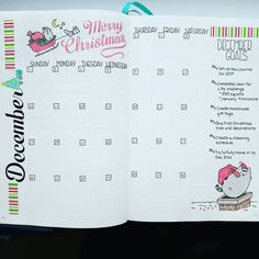 Inspirational and festive planners and bullet journals to keep you sane this holiday season. Christmas Planning Perfection   Zen of Planning   Planner Peace and Inspiration