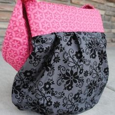 Step by step instructions to make your own sling tote.