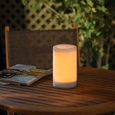 New Flameless Beige Solar Powered LED Outdoor Table Lamp with Electric Candle by Sterno Home Lighting Home Decor Furniture. offers on top store Floating Lights, Hanging Lights, Outdoor Table Lamps, Pathway Lighting, Outdoor Lighting, Solar Led, Diy Solar, Color Changing Led, White Candles