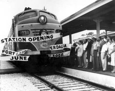 Station opening: Fort Lauderdale, Florida by State Library and Archives of Florida, via Flickr