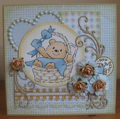 ink'n'rubba: Eline's baby digi design and digi papers from Cuddly Buddly
