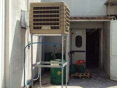 warehouse evaporative cooling solution Restoration Warehouse, Evaporative Cooler, Antique Lamps, Coolers, Sweet, Ideas, Home, Candy, Air Conditioners