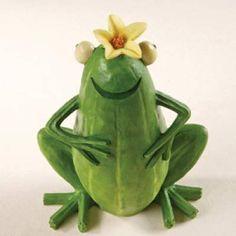 Enesco Home Grown from Zucchini Frog Figurine 4 in Veggie Art, Fruit And Vegetable Carving, Vegetable Crafts, Cute Snacks, Cute Food, Vegetable Animals, Fruit Animals, Deco Fruit, Food Sculpture