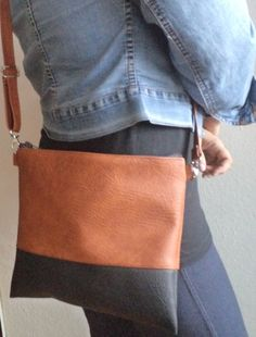 33a58b70a4a2 Crossbody bag Everyday purse Shoulder bag by reabags on Etsy