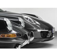 La silueta de 911 se ha mantenido durante más de 50 años con ligeros cambios en siete generaciones.