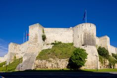 Castle of the Dukes of Normandy in Caen, Lower Normandy