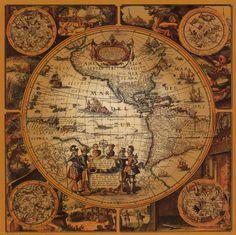 Ancient World Map by bilui on DeviantArt