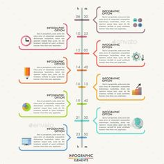 Modern Infographics Timeline Template  Timeline Infographics And