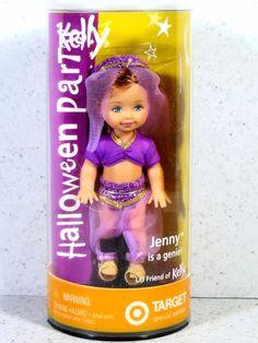 NIB BARBIE DOLL 2002 KELLY HALLOWEEN PARTY JENNY IS A GENIE