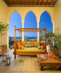 Diseño de Terrazas al estilo Marroquí