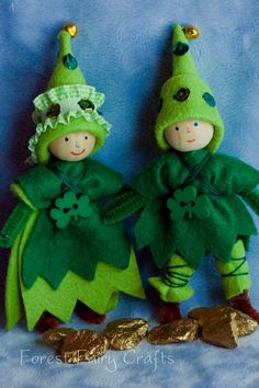 Leprechauns by Lenka at Forest Fairy Crafts