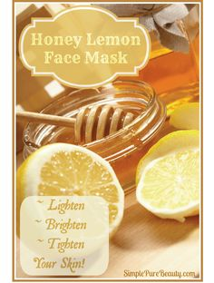 A fantastic face mask recipe that only requires a lemon and honey. Could it really be this simple? Who knew that these 2 simple ingredients that you probably have lying around your house could be so beneficial for your skin?
