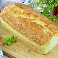 Chleb pszenny na suchych drożdżach – prosty i szybki przepis Bread Dough Recipe, Yeast Bread, Recipe Images, Sweet Bread, I Foods, Sweet Recipes, Banana Bread, Healthy Lifestyle, Food And Drink