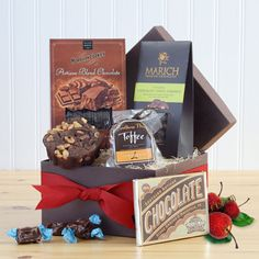 A Bite of Chocolate Gourmet Food Gifts  |  SavoryPantry.com