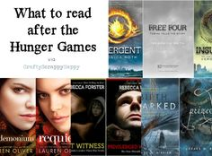What to read after the Hunger Games {Book Trilogy Recommendations} | Crafty Scrappy Happy