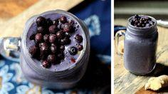 Cold-Fighting Wild Blueberry Smoothie - Wild Blueberries