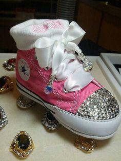 Little princess converse shoes