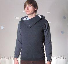 Cowl sweatshirt ... kinda cool & different than usual hoodie