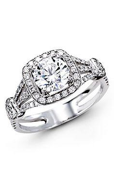 Simon G Engagement Rings TR418
