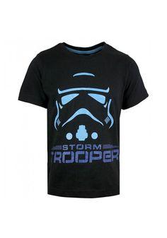 Tricou Star Wars Black Stormtrooper