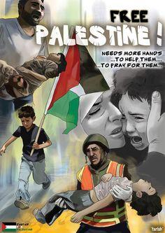 Free Palestine by saurukent on deviantART