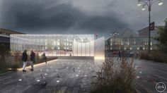 Russian architecture office Blank Architectshave won a competition to design the Rzhevskaya Metro Stationin Moscow, Russia. The open international...