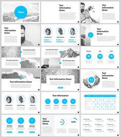 깨끗한 무료 PowerPoint 템플릿 Clean free PowerPoint template Already to File/Download