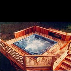 Hot tub please come live in my backyard!